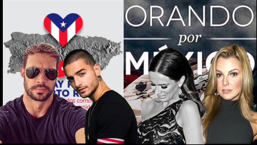 Famosos México y PR