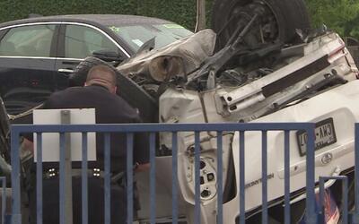 Conductor que ocasionó accidente por manejar con aparente exceso de velo...