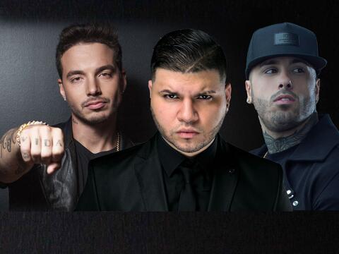 J Balvin, Farruko, Nicky Jam