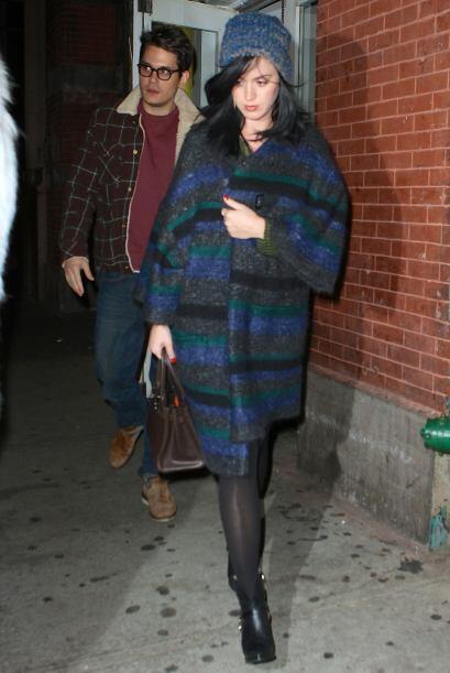 Quien definitivamente dejó la moda para otro día fue Katy...