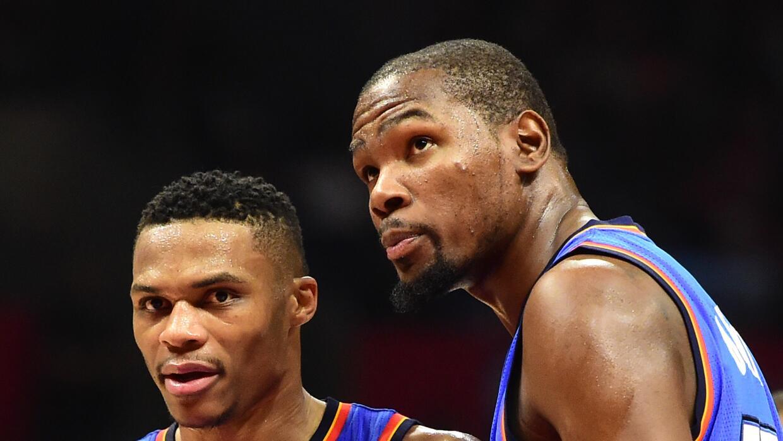 Thunder 122-112 Nuggets:  Westbrook y Durant imponen su clase
