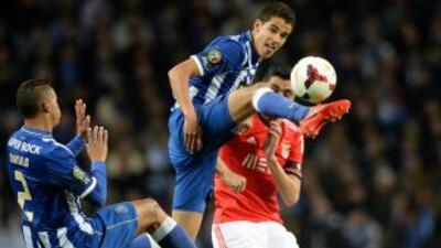 El mexicano Diego Reyes, al igual que su compatriota Héctor Herrera, vie...