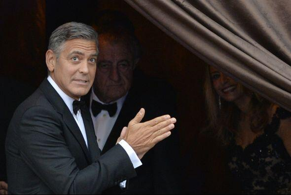 Aquí vemos al nervioso George.