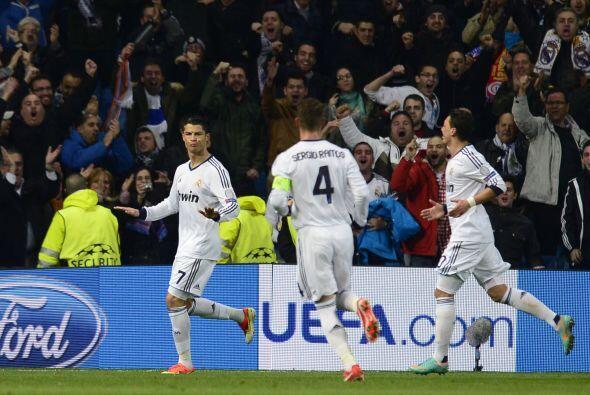 Cristiano volvía a ser decisivo para el Madrid.