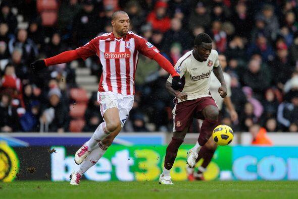 Otro de los buenos partidos de la jornada lo jugaron Stoke City ante el...