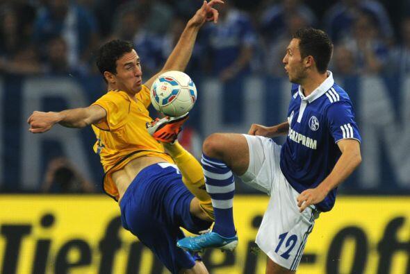 El Schalke tenía la misión de remontar un 2-0 adverso ante...