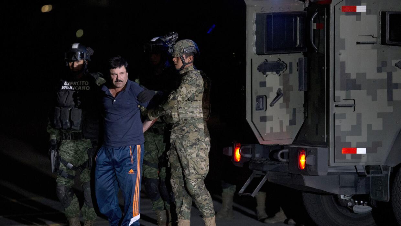 """""""El Chapo"""" Guzmán, capturado por fuerzas militares de M..."""