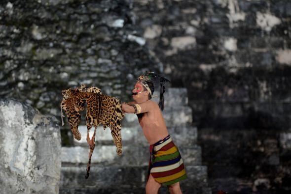 El secretario del Gran Consejo de Autoridades Ancestrales Mayas, Alberto...