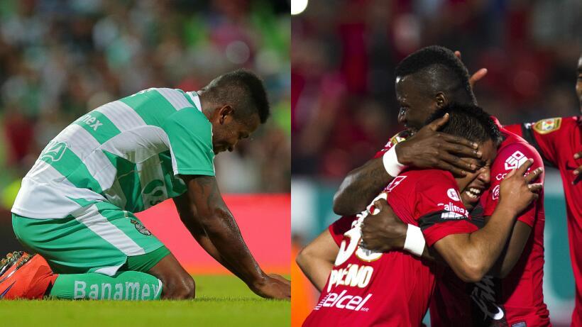 Los 10 momentos claves de la jornada sabatina de la Liga MX Getty-primer...