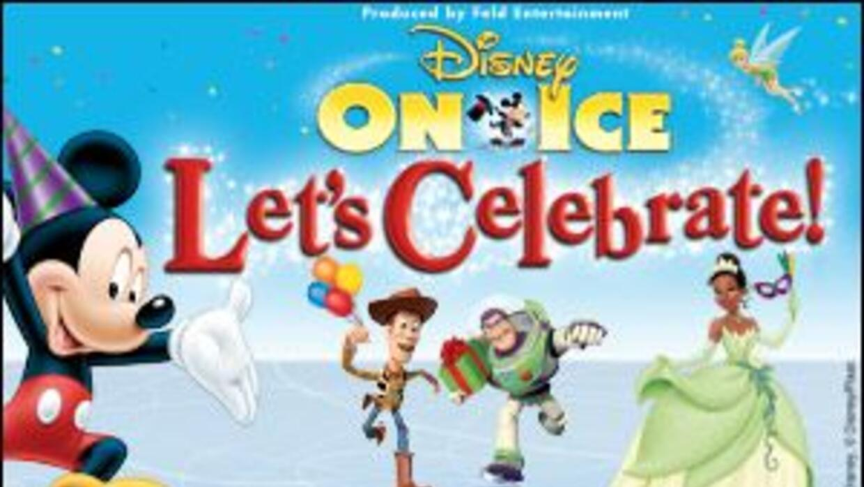 """Disney on Ice presenta """"Le'ts Celebrate"""" Desde el 16 de abril hasta el 2..."""