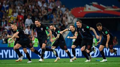 Así fueron los penaltis que llevaron a Croacia a las semifinales del Mundial Rusia 2018