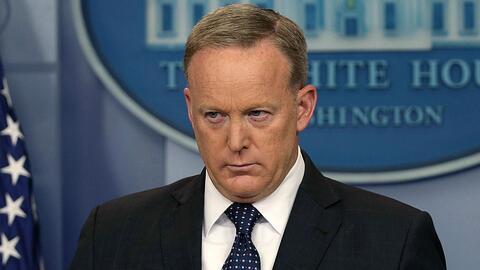 Sean Spicer, vocero de la Casa Blanca, renunciaría a su cargo