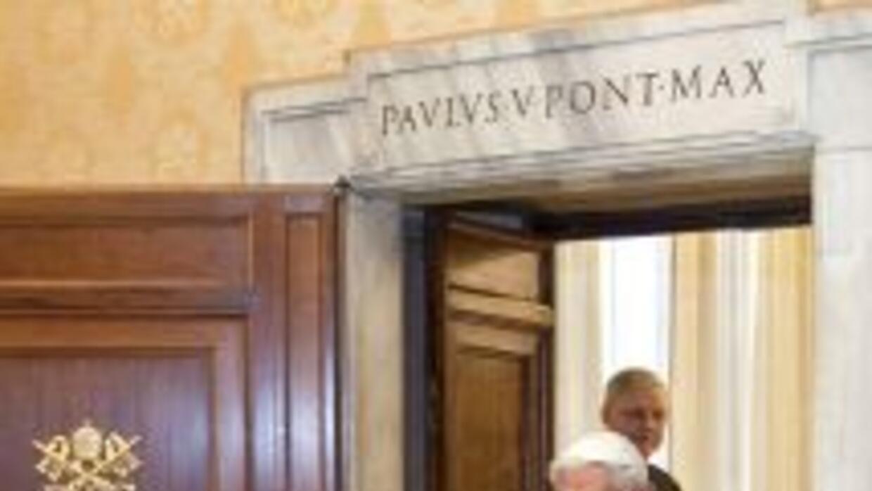 """Para Benedicto XVI ha sido """"muy difícil"""" tomar la decisión de renunciar..."""