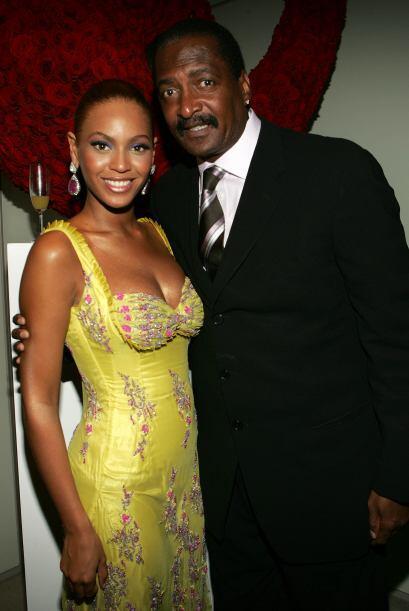 Con su padre, Mathew Knowles, 'Queen B' no lleva la mejor de las relacio...