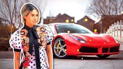 Galilea Montijo estrena increíble carro con todo y chofer
