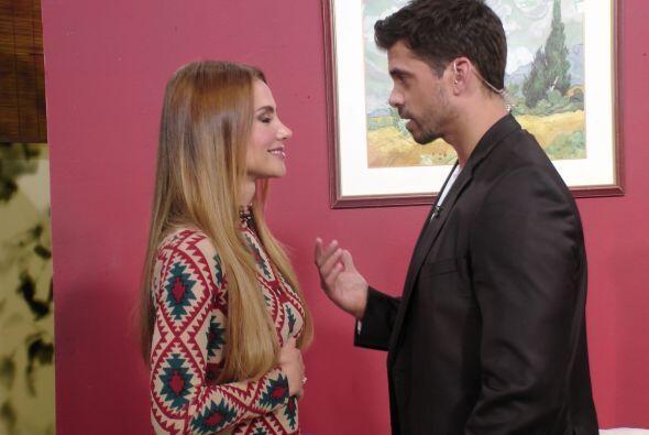 A Ximena también lo tocó actuar con Pedro Moreno y lo tuvo...