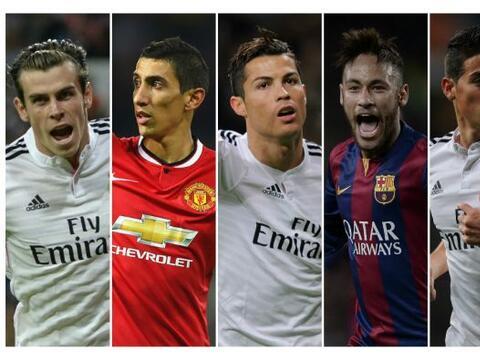 Ronaldo, Messi, Neymar, estos son algunos de los futbolistas mejor pagad...