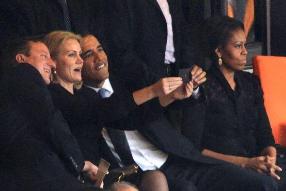 A la primera dama MIchelle Obama le dieron unos celos tremenos cuando su...