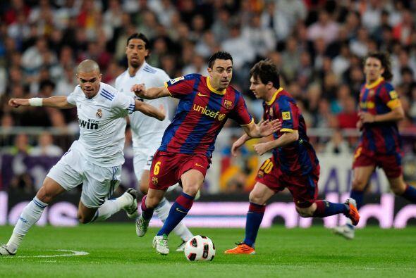 Los primeros compases del partido fueron a favor del Barcelona, que cont...