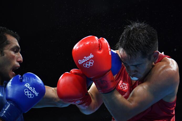 Misael boxeo