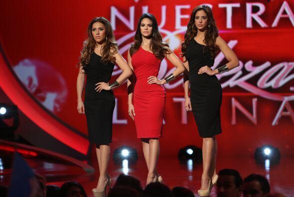 En esta ocasión, las tres chicas que tuvieron que estar en la l&i...