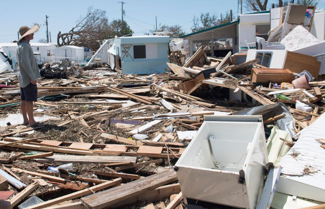 Las imágenes más increíbles en Florida tras el paso del huracán Irma Get...