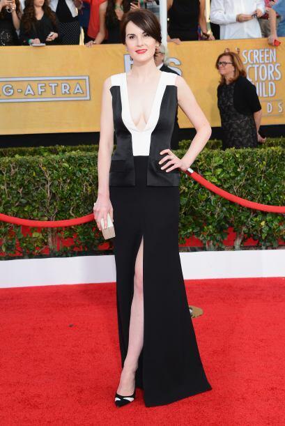El vestido de Michelle Dockery no estaba tan mal, hasta que vimos ese de...