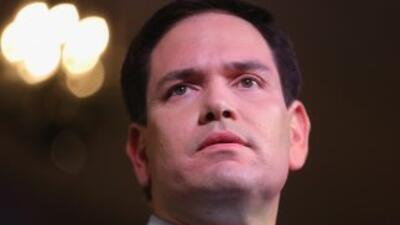 El senador Marco Rubio (R) Florida.