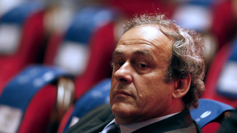 Michel Platini, presidente de la UEFA.