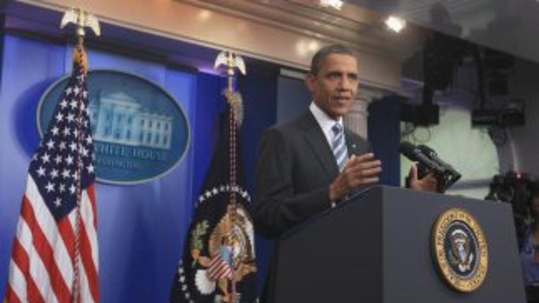 Obama aseguró haberle dicho a líderes del Congreso que le muestren un pl...