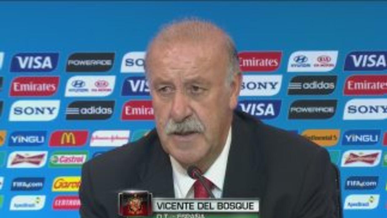 """Vicente del Bosque: """"Holanda nos ha superado"""""""