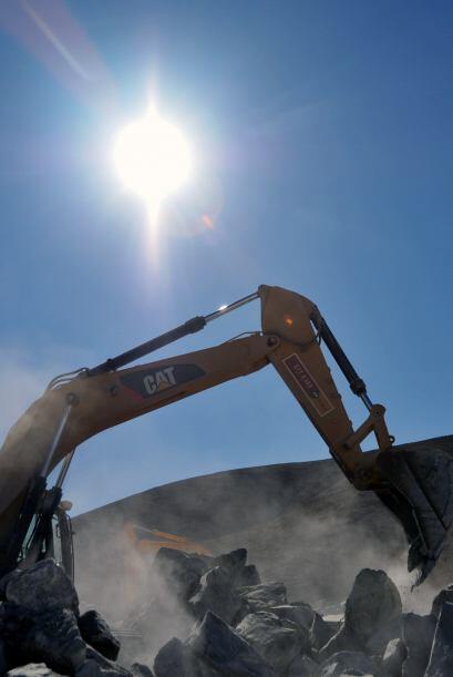 La sonda que debe cavar a una profundidad de 624 metros, alcanzó...