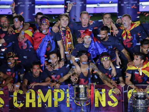El Barça es Campeón de la Champions y logra el triplete -...