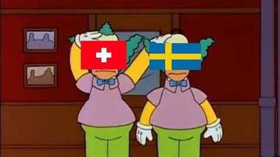 Memelogia | A falta de emociones, los memes entretuvieron el triunfo de Suecia sobre Suiza