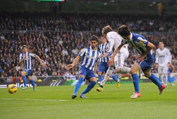 Por si fuera poco, casi arrancando la segunda mitad, el Madrid ya estaba...