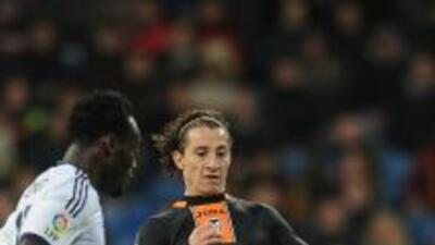 El 'Principito' jugó todo el partido de vuelta ante el Madrid.
