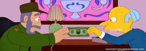 Castri en Los Simpson