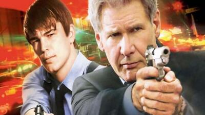 Dos agentes de homicidios del cuerpo de policía de Los Ángeles investiga...