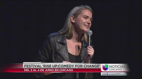 "Se llevó a cabo el evento de ""Rise up Comedy for the Change"""