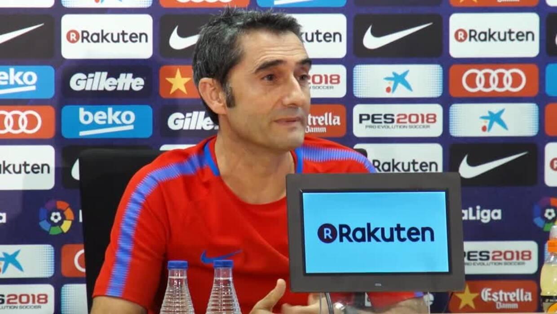 """Valverde: """"Partida de Neymar y lesión de Suárez me cambian el guión"""""""
