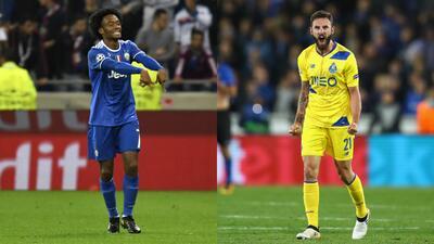Layún y Cuadrado brillan por latinoamérica en la Champions