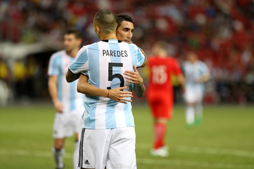 Segundo examen aprobado de Sampaoli con la selección de Argentina GettyI...