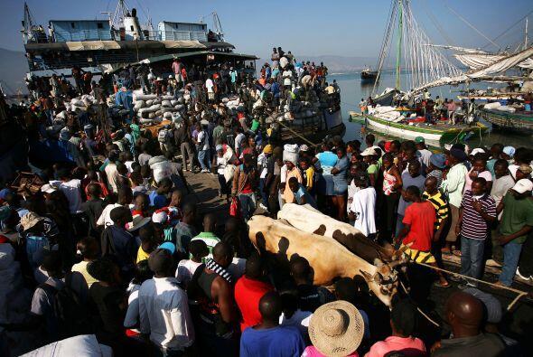 El pueblo de Haití busca la forma de recuperar su economía tras los desa...