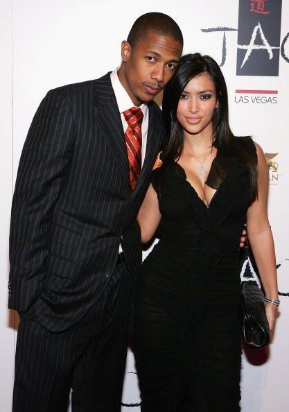 Nick Cannon  Antes de casarse con Mariah Carey. Nick y Kim tuvieron un b...