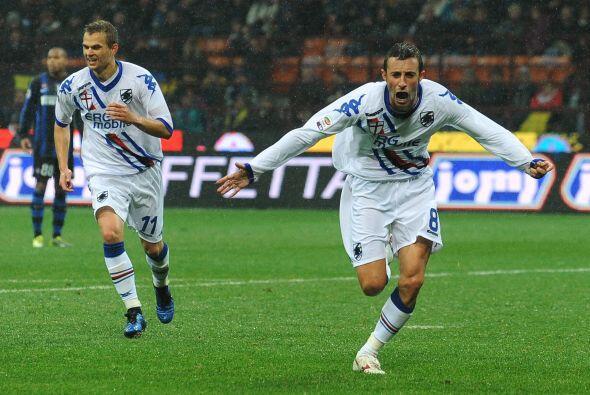 Al minuto 62, Gubert silenció el Giuseppe Meazza al lograr el 1-0.