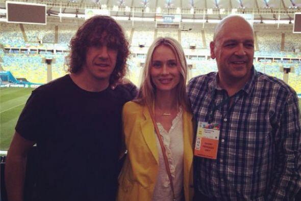 Carles Puyol se dijo listo para ver la Final en el Maracaná junto a su f...