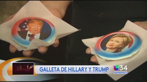 Contienda electoral se extiende al mundo de las galletas