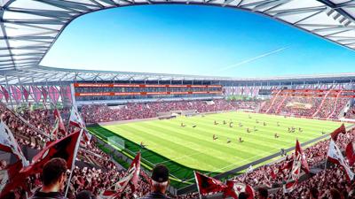 El estadio estaría listo para 2018.