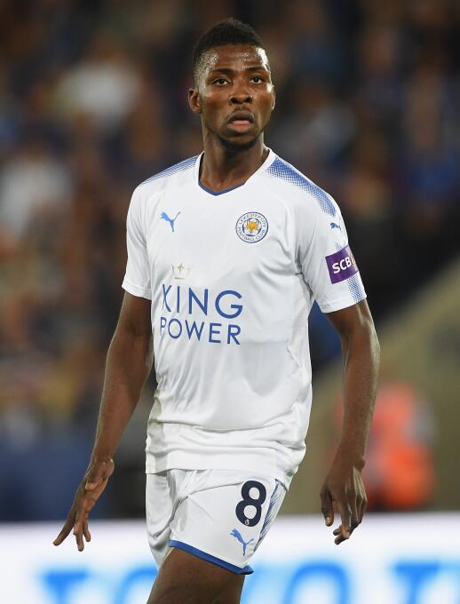 Kelechi Iheanacho (Leicester City): era promesa del Manchester City, per...