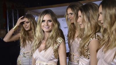 Heidi Klum crea cinco clones idénticos a ella para celebrar Halloween